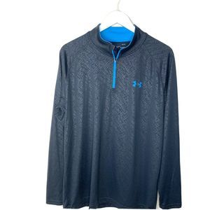 Under Armour Tech Embossed 1/4 Pullover Jacket